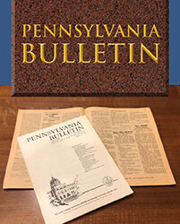 Order  from Pennsylvania Department of Agriculture